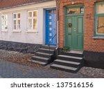 town scene | Shutterstock . vector #137516156