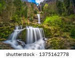 Giessbach Waterfall On The...