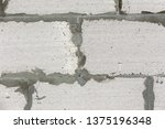background from white brick... | Shutterstock . vector #1375196348