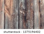 brown old wood texture.... | Shutterstock . vector #1375196402