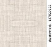 seamless natural linen pattern. ... | Shutterstock .eps vector #137520122