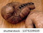 Boxing Gloves. Old Vintage...