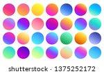 vivid gradient spheres....
