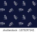 abstract stripe vector on navy...   Shutterstock .eps vector #1375297142