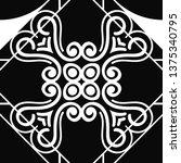 vector modern tiles pattern....   Shutterstock .eps vector #1375340795