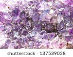 Amethyst Abstract Background