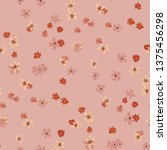 small floral seamless texture... | Shutterstock .eps vector #1375456298