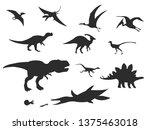 Set Of Silhouettes Of Differen...