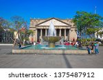 guadalajara  mexico april 14 ...   Shutterstock . vector #1375487912