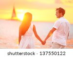 Couple In Love Happy At...