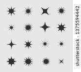 stars and sparks. magic star...   Shutterstock .eps vector #1375594442