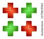 firs aid medical cross.... | Shutterstock .eps vector #1375815965