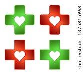 firs aid medical cross.... | Shutterstock .eps vector #1375815968