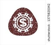 red money icon inside...   Shutterstock .eps vector #1375820342