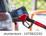 fill the car with fuel. the car ... | Shutterstock . vector #1375822232