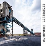 colliery coal screens. and... | Shutterstock . vector #1375865288