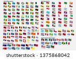 all national waving flags from... | Shutterstock .eps vector #1375868042