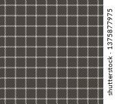 seamless check plaid pattern...   Shutterstock .eps vector #1375877975