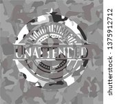 unattended on grey camouflaged...   Shutterstock .eps vector #1375912712