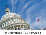 Washington Dc  Us Capitol...