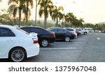 closeup of rear  back side of...   Shutterstock . vector #1375967048