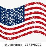 illustration patriot united... | Shutterstock .eps vector #137598272