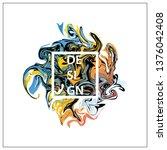 vector  abstract background...   Shutterstock .eps vector #1376042408