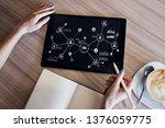 organisational structure ...   Shutterstock . vector #1376059775