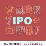 ipo word concepts banner....