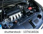 car engine | Shutterstock . vector #137616026