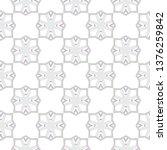 seamless vector pattern in... | Shutterstock .eps vector #1376259842