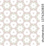 seamless vector pattern.... | Shutterstock .eps vector #1376263835