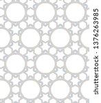 seamless vector pattern.... | Shutterstock .eps vector #1376263985