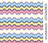seamless bright striped pattern.... | Shutterstock .eps vector #1376265815
