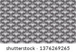 isometric seamless pattern ... | Shutterstock .eps vector #1376269265