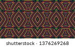color seamless pattern with... | Shutterstock .eps vector #1376269268