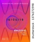 music poster. commercial... | Shutterstock .eps vector #1376272598