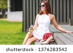 outdoors lifestyle fashion... | Shutterstock . vector #1376283542