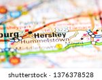 hershey. pennsylvania. usa on a ...   Shutterstock . vector #1376378528