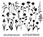 collection of vector... | Shutterstock .eps vector #1376395835