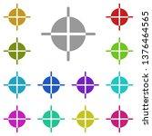 guide  text multi color icon....