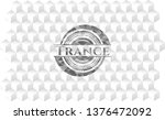 trance grey badge with... | Shutterstock .eps vector #1376472092
