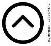 up arrow vector icon