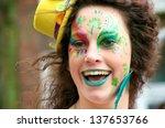 cork  ireland   march 17   an... | Shutterstock . vector #137653766