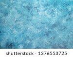 blank grunge concrete wall blue ...   Shutterstock . vector #1376553725