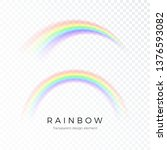 color abstract rainbow. fantasy ... | Shutterstock .eps vector #1376593082