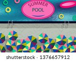 stylized as a photo from the...   Shutterstock .eps vector #1376657912