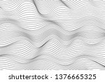wave lines pattern abstract...   Shutterstock .eps vector #1376665325