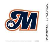 modern professional letter... | Shutterstock .eps vector #1376679602