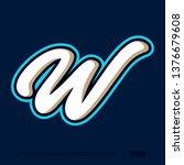 modern professional letter... | Shutterstock .eps vector #1376679608